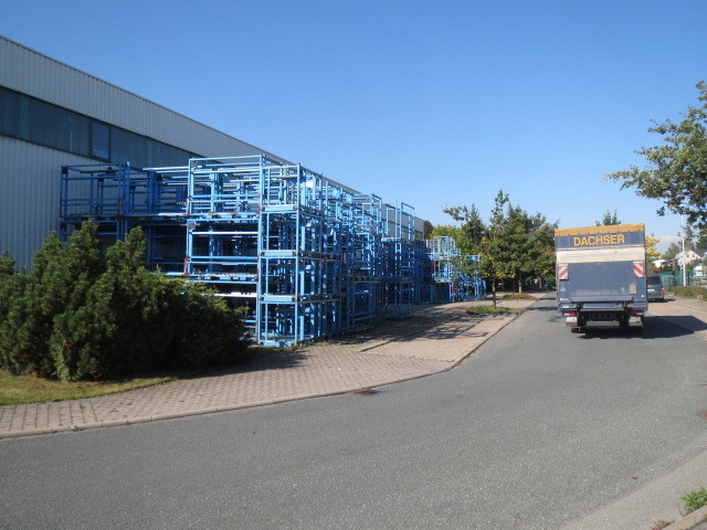 Kaltlagerhalle im Gewerbegebiet Treuen / Sachsen